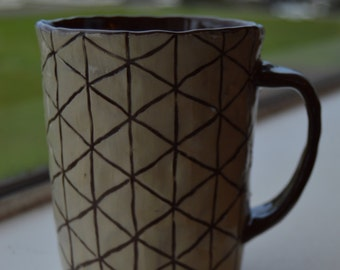 Tiny Triangles Mug