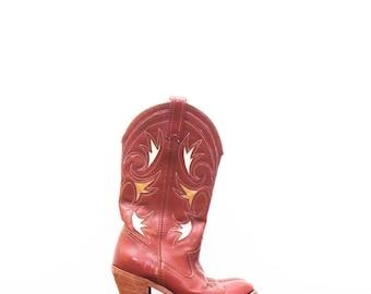 Vintage Dingo Cowboy Boot, Western Boot sz. 6