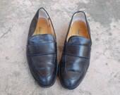 Vintage Womens 7 Robert Clergerie France Slip on Loafers Loafer Dress Shoes Preppy Hipster Oxfords Spring Summer Festival Fashion Designer