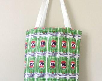 VB long together- printed tote bag