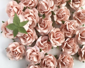 Blush Pink Paper Flowers Wedding. Paper Flower Backdrop Wall. DIY Wedding Favors. Wedding Favor Boxes. Wedding Decor Decorations Vintage.