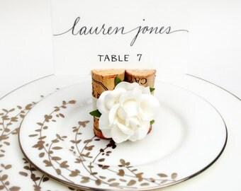 Wedding Place Card Holder, Name Card Holder, Place Card Display, Place Cards Wedding, Wine Wedding Decor, Wine Theme Wedding, Winery Wedding
