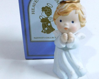 Avon HEAVENLY BLESSINGS Nativity Collection - Angel, MIB - 1986