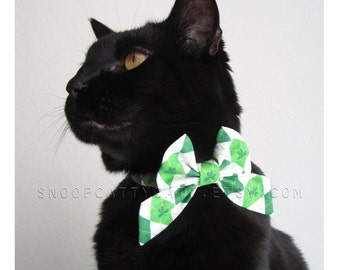 Cat Bow - Kiss Me, I'm Irish
