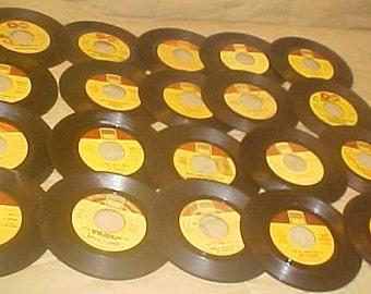 "45 rpm Record Lot of 20 Tamla Label Stevie Wonder Marvin Gaye Smokey Robinson etc Vinyl 7"" Records"