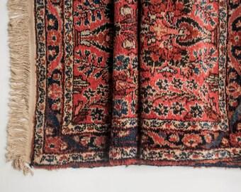 Antique Persian Runner Rug - Fringe Runner Rug