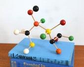 Vintage Molecular Model