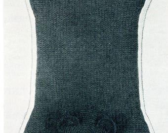 1950's Bear Skin Rug Crochet Pattern Instant Download PDF