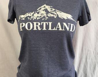 Woman's Portland T-Shirt, Mt. Hood, Mt. Wy'East