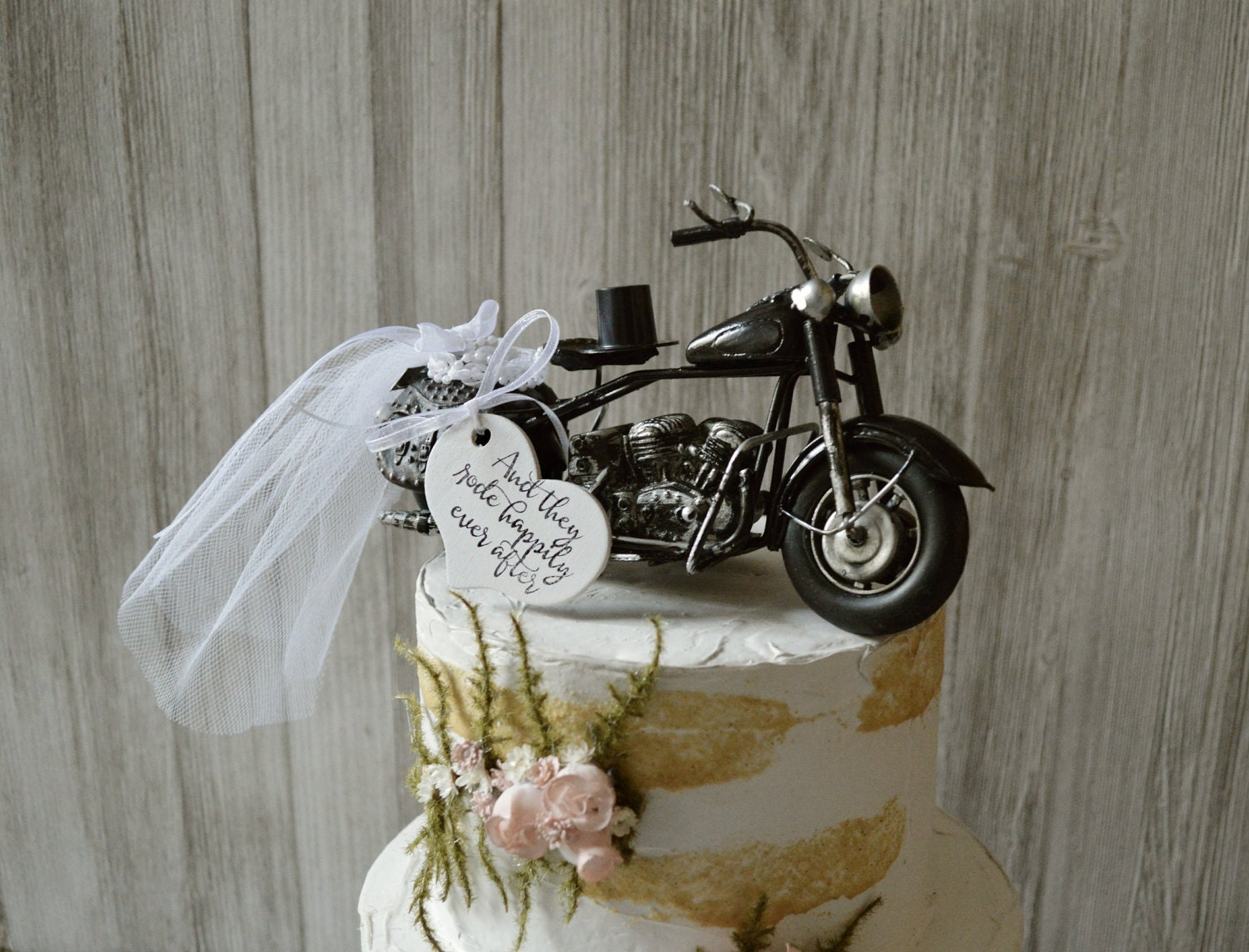 Motorcycle Wedding Cake Topper Motorcycle Topper Harley