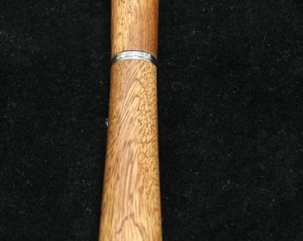 Handturned Wooden Rollerball Pen – Kamani Wood