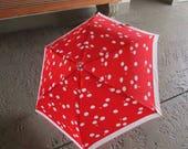 Vintage Courreges Paris Rare Mod Cloud Theme Umbrella 1970s