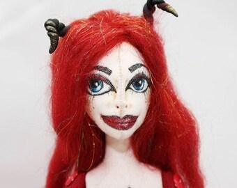 Lucy Devil Art Doll