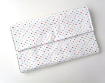 Travel Change Pad || Diaper Clutch Change Pad || Cotton Change Pad with Diaper Pocket || Diaper Change Mat