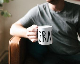 Grandpa Mug, Pregnancy Announcement, Fathers Day Gift, New Grandpa Gift, Grandpa Gift, Gift for Dad, New Dad, Funny Mug, Birthday Gift