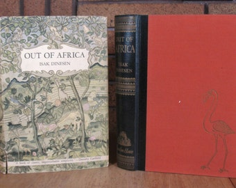 Out of Africa by Isak Dinesen - HC 1st Edition 1938