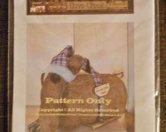 Primitive Mouse Printed Pattern, Mouse Patterns, Animal Sewing Patterns