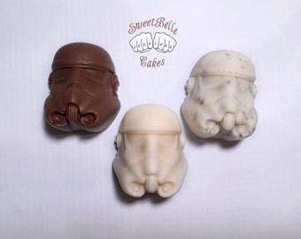 Stormtrooper Chocolates. One dozen. Star Wars. Made to Order.