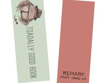 Toad Bookmark