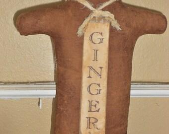 Primitive Gingerbread-Primitive Gingers-Primitive Christmas--784