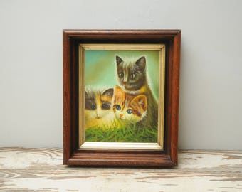 3 Kittens Painting