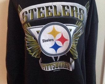 SALE! Vintage Pittsburgh Steelers Sweatshirt