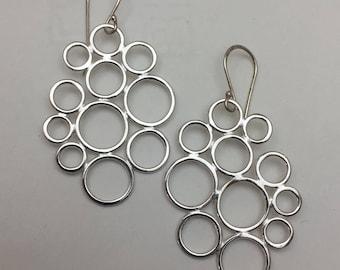 Sterling Silver Raindrop Earrings