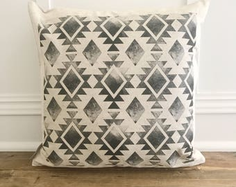 Aztec Pillow Cover (Design 6)