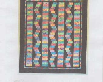 Wiggles 2 quilt pattern, Willow Brook Quilts, DIY Quilting