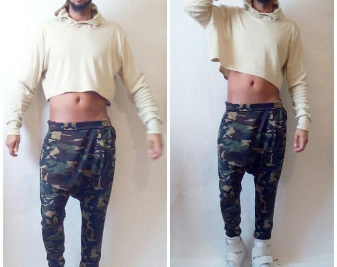Layered Croptop Hoodie Combo Two Piece Set FOG Yeezy Sleeveless Shirt Hood Crop Top