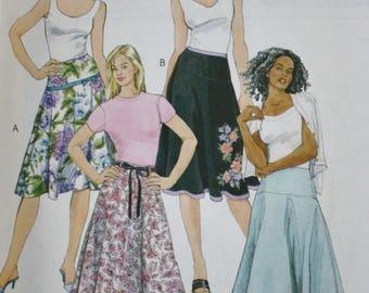 Yoked Skirt Sewing Pattern/ McCalls M4783/ UNCUT/ Size 14-16-18-20