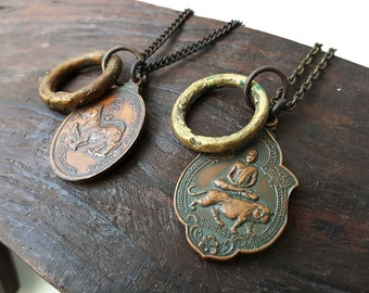 Vintage Thai Animal Necklace - Design Your Own - Animal Series I