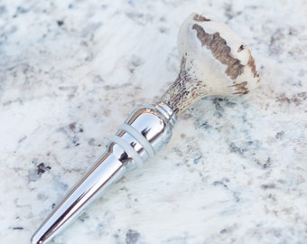 Wine Bottle Stopper, Antler Wine Stopper, Unique Wine Gifts, Wine Stopper, Bottle Stopper, Wine Accessories, Rustic Barware, Bar Accessories