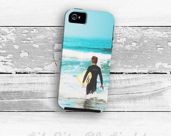 Surf iPhone 6s Case - iPhone 6s Plus Cover - Surfer iPhone 5s Case - Ocean Beach iPhone 6 Plus Case - iPhone 5 Case - iPhone 4/4s Case