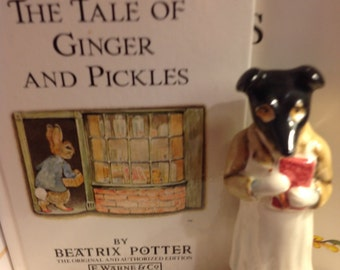 Beatrix Potter's Pickles Fgurine Beswick Figurine  BP-3a  Issued 1973 -1974