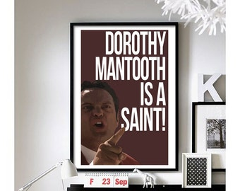Anchorman - ('Wes Mantooth') wall art
