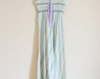 Vintage 1970s Maxi Dress / Vintage Romantic Dress