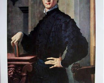 Bronzino Portrait Of A Young Man Art Print The Metropolitan Museum of Art