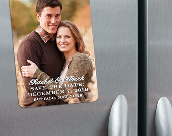 Rachel - Photo Save the Date Magnets + Envelopes