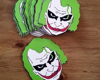 Joker Invitation, Batman Joker Invites, Joker Party, Joker Invite, Batman Joker Birthday, Joker Decor, The Dark Knight, DC Comic, The Joker