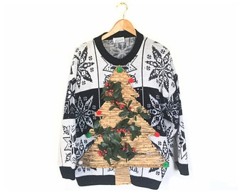 Ugly Christmas Sweater, Tacky Christmas Sweater, large ugliest Christmas sweaters, ugliest Christmas sweater