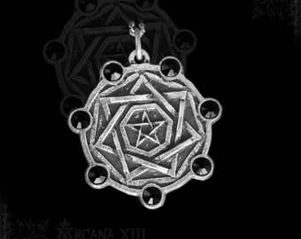 Pendant Sigillum Dei with Onyx
