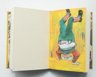 Alice in Wonderland Vintage Wedding Guest Book - Unique Bespoke Personalised Guestbook
