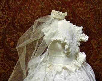 Bride Doll  Mannequin  Pincushion Centerpiece