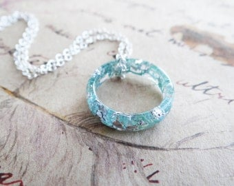 Turquoise ring stacking rings silver rings birthday gift turquoise necklace christmas jewelry turquoise jewelry stackable rings for women