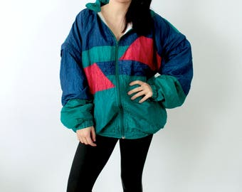 Vintage Windbreaker, Jacket.