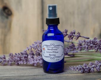 Pillow Spray - Linen Spray - Lavender Spray - All Natural - Lavender Pillow - Insomnia - Aromatherapy - Relaxation - Essential Oil Spray