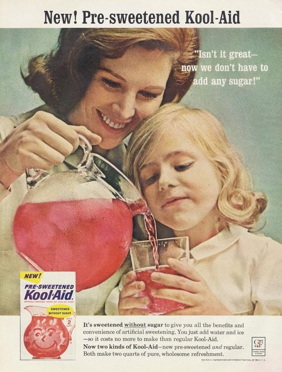 Vintage Food Advertisements of the 1950s (Page 34) |Magazine Ads 1960 Kool Aid