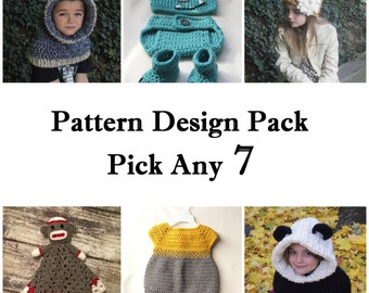 Pattern Discount Package - Pick Any 7
