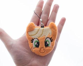 Applejack Plush Charm